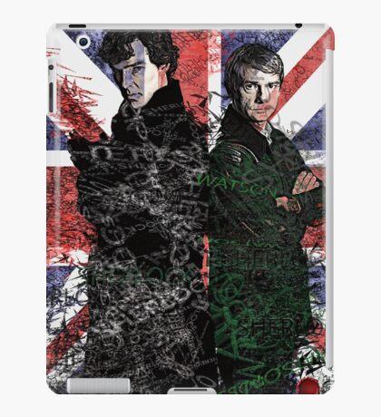 Sherlock & Watson iPad Case/Skin