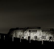 Ruin at Night by fotohebden
