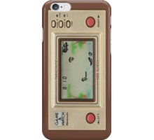 Game&Watch 2 iPhone Case/Skin