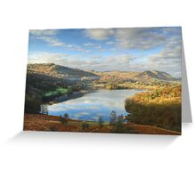 Grasmere From Loughrigg Greeting Card