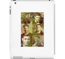 Dean Winchester Fire iPad Case/Skin