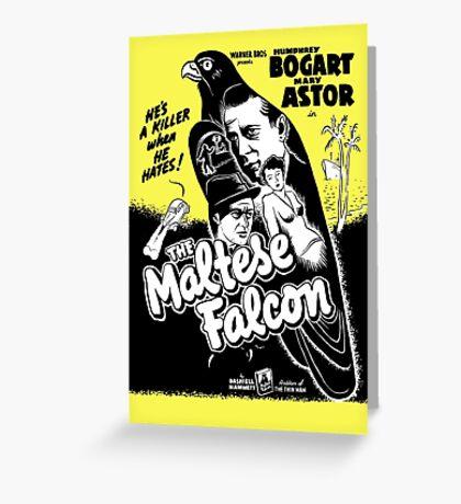 The Maltese Falcon Greeting Card