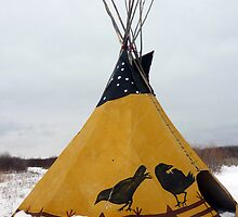 Yellow Teepee by rhamm