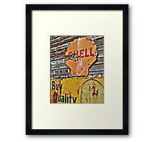 Soft Shell Government Grade Framed Print