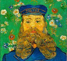 Vincent Van Gogh - Portrait of Joseph Roulin, 1889 by famousartworks