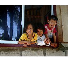 Bornese children Photographic Print
