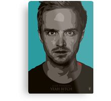 Jesse Pinkman Bitch! Metal Print