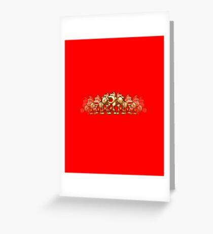 Donkey Kong! Greeting Card