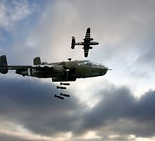 B25 Mitchell Bombers by J Biggadike