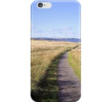 Coastal Path-Winter Grass iPhone Case/Skin