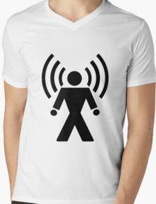 Wi-Fi Mens V-Neck T-Shirt