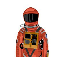 Dave the astronaut from 2001: A Space Odyssey by Kiran Crampton