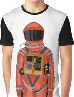 Dave the astronaut from 2001: A Space Odyssey Graphic T-Shirt