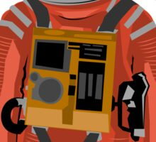 Dave the astronaut from 2001: A Space Odyssey Sticker