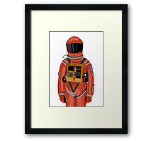 Dave the astronaut from 2001: A Space Odyssey Framed Print