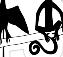 Tetrapod Zoology Podcast Sticker
