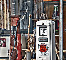 CocoCola 7Up and Gas by Lee Craig