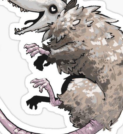 Oh Possum Sticker