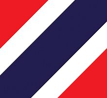 Smartphone Case - Flag of Thailand 4 by Mark Podger