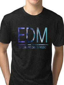 EDM - Texture Tri-blend T-Shirt