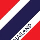 Smartphone Case - Flag of Thailand 5 by Mark Podger