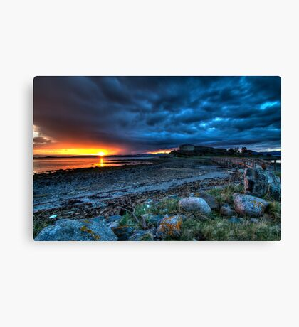 Castle in Norway Canvas Print