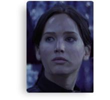 Katniss Everdeen/Jennifer Lawrence Painting Canvas Print