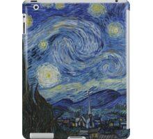 Vincent Van Gogh - Starry Night,  Impressionism .Starry Night, 1889 iPad Case/Skin