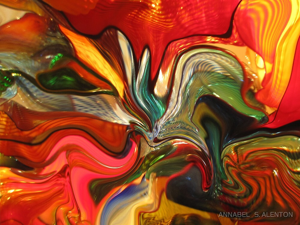 colored swirl by ANNABEL   S. ALENTON