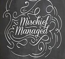 Mischief Managed by artistkillian