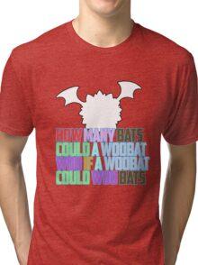 Woo Bats Tri-blend T-Shirt