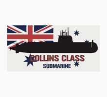 Collins Class Submarine  by Mil Merchant