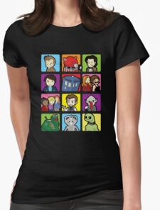 Doctor Squares Womens Fitted T-Shirt