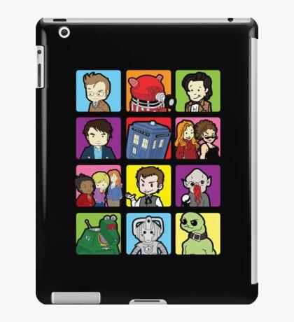 Doctor Squares iPad Case/Skin
