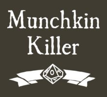 WoD Munchkin Killer - For Dark Shirts by Serenity373737