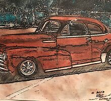 My 48' Chevy Coupe a sweet ride by David M Scott