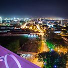 Night Cityscape of Georgetown Penang Malaysia by MiImages