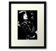 Call girl Framed Print
