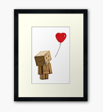 Danbo Vs Banksy Framed Print