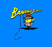 BANANA JONES I-PHONE CASE  by karmadesigner