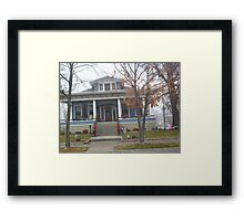 DECORATED FOR CHRISTMAS Framed Print
