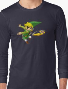 Link throwing  Long Sleeve T-Shirt