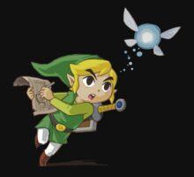 Link flying Baby Tee