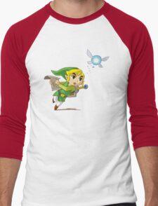 Link flying Men's Baseball ¾ T-Shirt