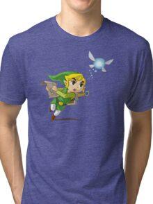 Link flying Tri-blend T-Shirt