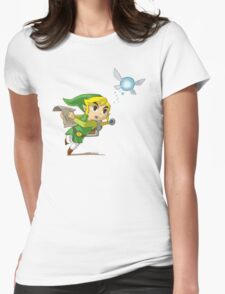 Link flying Womens Fitted T-Shirt