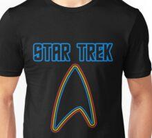 Star Trek Rainbowish Font  Unisex T-Shirt