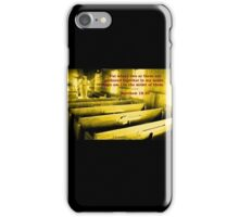 Matthew 18:20 - For Where Two Or Three Are Gathered iPhone Case/Skin