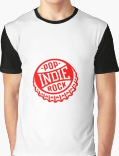 Indie Rock and Pop Graphic T-Shirt