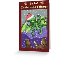 Christmas Fthagn! Greeting Card